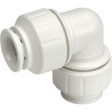 JG Speedfit Equal Elbow Connector - 10mm - Pack 10 - White